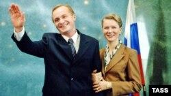 Андрей Панин исполнил роль президента России, а Дарья Михайлова роль его жены