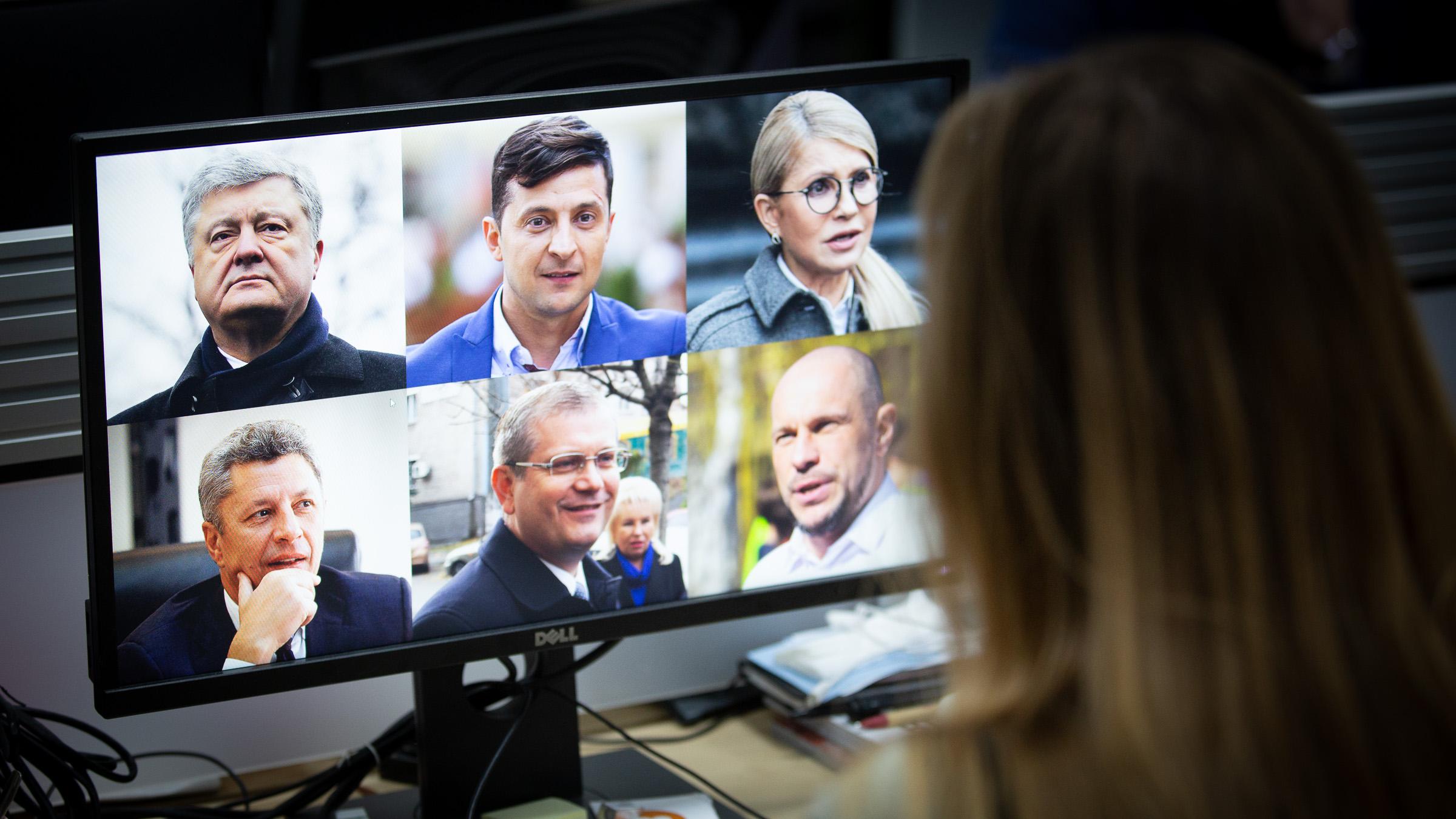 Каго ўкраінцы будуць выбіраць 31 сакавіка 2019 году?