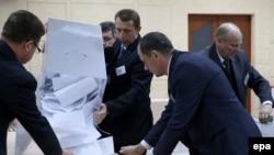 Подсчет голосов на выборах