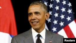 Президент США Барак Обама. Гавана, 22 марта 2016 года.