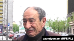 Ռուսաստանցի քաղաքագետ Բորիս Թումանովը Մոսկվայում հարցազրույց է տալիս «Ազատության» հայկական ծառայությանը, արխիվ