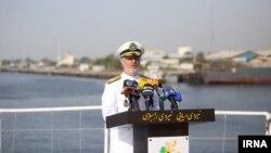 حسین خانزادی، فرمانده نیروی دریایی ارتش ایران