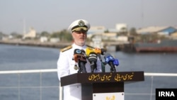 Иранның теңіз әскери күштерінің адмиралы Хоссейн Ханзади.