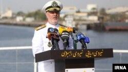 Командующий военно-морскими силами Ирана контр-адмирал Хоссейн Ханзади.