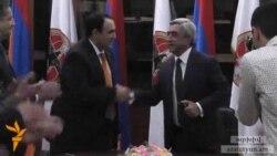 ՕԵԿ նախագահը անձամբ է քարոզելու Սերժ Սարգսյանի օգտին