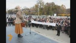 Protest la Chişinău, 12.11.2011