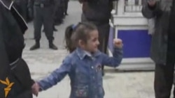 A Little Girl's Brave Protest In Baku