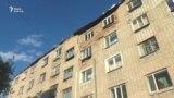 Аварийное общежитие по улице Егемен Казахстан