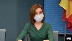 Președinta Maia Sandu la Consiliul Europei, Strasbourg, 19 aprilie 2021/ IPN