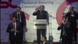 Під час виступу Ердогана в Нью-Йорку сталася бійка (відео)