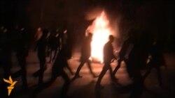 İsmayıllıda etiraz aksiyası 24 yanvar gecə saatlarında da davam edib