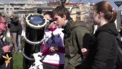 Beograđani uživali u pomračenju Sunca