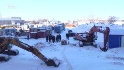 «Замороженная стройка». В Петропавловске жители добиваются выдачи квартир по госпрограмме