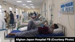 بیماران مبتلا به ویروس کرونا در شفاخانه افغان جاپان