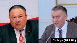 Талант Узакбаев менен Исхак Пирматов.