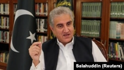 Pakistani Foreign Minister Shah Mehmood Qureshi was unusually blunt. (file photo)