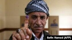 Nga një vendvotim në Kurdistan të Irakut...