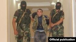 Azerbaijan - Armenian captive Karen Petrosyan is taken into Azerbaijani custody - 08Aug2014