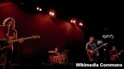 Pamje nga një koncert në Madison Square Garden