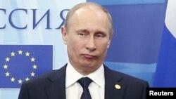 Ресей президенті Владимир Путин. Мәскеу, 21 желтоқсан 2012 жыл.