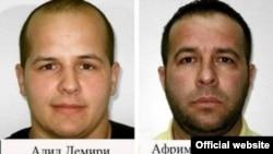 Алил Демири и Африм Исмаиловиќ, обвинети за пет убиства во Македонија на 12 април 2012 година.
