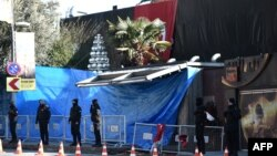 Ночной клуб Reina после совершения теракта, 2 января 2017 года.