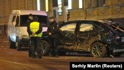 Наслідки ДТП в Харкові, внаслідок якого загинуло шестеро людей, жовтень 2017