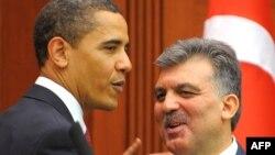 ԱՄՆ-ի եւ Թուրքիայի նախագահների հանդիպումը Անկարայում, ապրիլ, 2009թ.