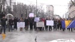 Sarajevo: Obilježena godišnjica februarskih protesta