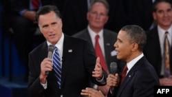 Barack Obama və Mitt Romney arasında ikinci debat