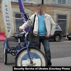 Куратор сумських терористів, офіцер російської спецслужби Денис Юшин. Фото з соцмережі надане СБУ