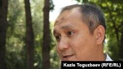Нурым Тайбек, лидер мусульман-ахмадийцев Казахстана. Алматы, 19 июня 2012 года.