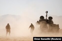"""Бойцы """"Хибаллы"""" на юге Сирии. Дата фото неизвестна"""