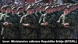 Mlada vojska polaže zakletvu, ilustrativna fotografija