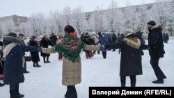 Акция против застройки в Северодвинске