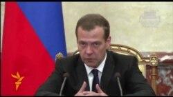Медведев Төркия тауарларын тыю ниятен игълан итте