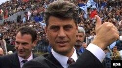 Hashim Thaci, Priština, 2002.