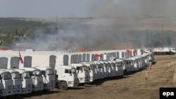 Ruski konvoj u blizini granice sa ukrajinom