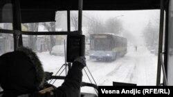 Sneg blokirao Beograd