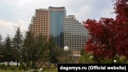 Основной корпус оздоровительного комплекса «Дагомыс»