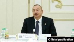 Ilham Əliyev, Aşqabad, 11 oktyabr 2019