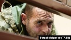 Захваченный ФСБ украинский моряк Юрий Будзыло в Киевском районном суде Симферополя. 27 ноября 2018 года