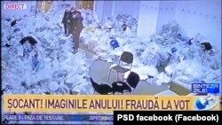 Imagini difuzate de A3 cu pretinsă fraudă