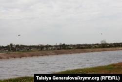 Северо-Крымский канал в апреле 2014 года