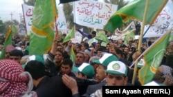 من تظاهرات ديالى (الارشيف)