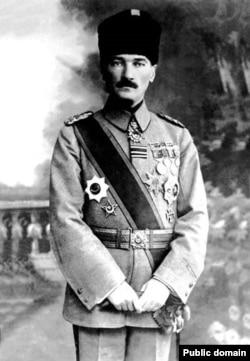 مصطفی کمال در سال ۱۹۱۸