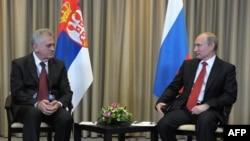 Tomislav Nikolić i Vladimir Putin u Moskvi, maj 2012. godine