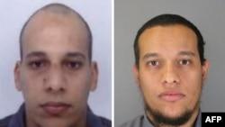 Братья Куаши, подозреваемые в убийстве 12 человек в редакции французского сатирического журнала Charlie Hebdo