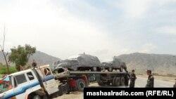 افغانستان ته پر تلونکې ګاډي برید. ۱۴اپرېل۲۰۱۴