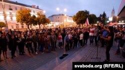 ادامه اعتراضات به نتایج انتخابات ریاست جمهوری بلاروس.